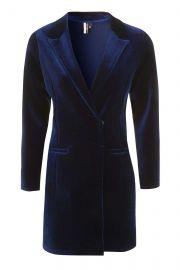 Velvet Blazer Dress at Topshop