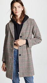 Velvet Graham Houndstooth Coat at Shopbop