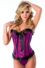 Velvet Kitten Taffeta Corset at Amazon