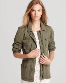 Velvet by Graham  amp  Spencer Army Jacket - Essential Pick at Bloomingdales