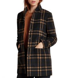 Velvet by Graham  amp  Spencer Jasmann Plaid Coat Women - Bloomingdale s at Bloomingdales