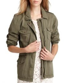 Velvet by Graham  amp  Spencer Ruby Army Jacket  Women - Bloomingdale s at Bloomingdales
