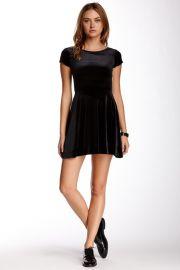 Velvet dress by Love Ady at Nordstrom Rack