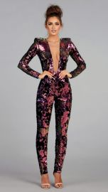 Venus Jumpsuit by Walter Mendez at Walter Collection