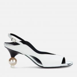 Vera Sling Back Heeled Sandals at Coggles