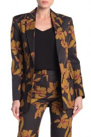 Vernay Floral Wool Blend Blazer by A.L.C. at Nordstrom Rack