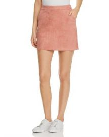 Vero Moda Donna Faux Suede Mini Skirt Women - Bloomingdale s at Bloomingdales