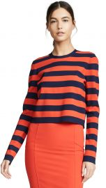 Veronica Beard Broome Long Sleeve Sweater at Shopbop
