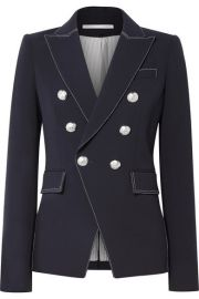 Veronica Beard - Miller crepe blazer at Net A Porter