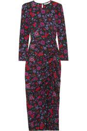 Veronica Beard - Selena floral-print stretch-silk midi dress at Net A Porter