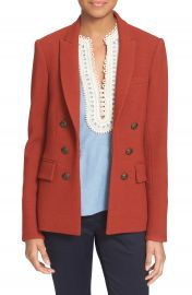 Veronica Beard  Peninsula  Faux Double Breasted Blazer at Nordstrom