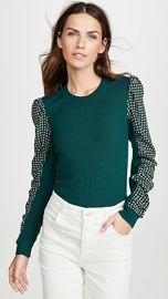 Veronica Beard Adler Mixed Media Sweater at Shopbop