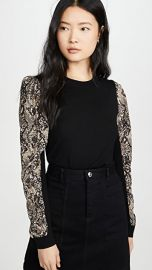Veronica Beard Adler Mixed Media Sweater at Shopbop