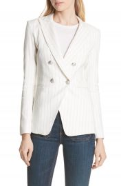 Veronica Beard Apollo Pinstripe Jacket at Nordstrom