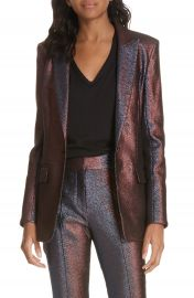 Veronica Beard Ashburn Metallic Blazer   Nordstrom at Nordstrom