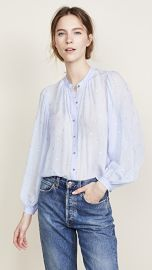 Veronica Beard Ashlynn Blouse at Shopbop