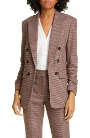 Veronica Beard Beacon Check Dickey Jacket   Nordstrom at Nordstrom