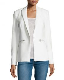 Veronica Beard Bi-Stretch Scuba Jacket at Neiman Marcus