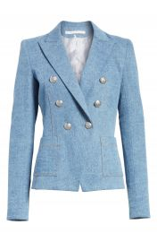 Veronica Beard Caden Denim Dickey Jacket   Nordstrom at Nordstrom