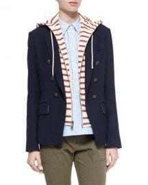 Veronica Beard Captain Double-Breasted Jacket at Neiman Marcus