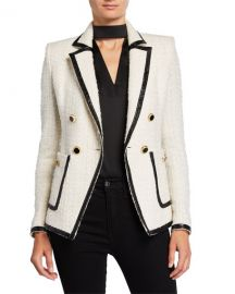 Veronica Beard Cato Tweed Jacket at Neiman Marcus