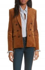 Veronica Beard Cliff Corduroy Cutaway Jacket at Nordstrom