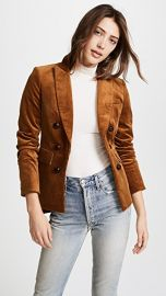Veronica Beard Cliff Cutaway Jacket with Elbow Patches at Shopbop