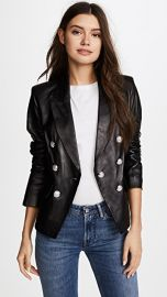 Veronica Beard Cooke Leather Jacket at Shopbop