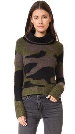 Veronica Beard Davis Camo Sweater at Shopbop