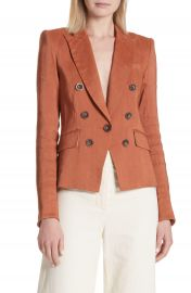 Veronica Beard Diego Linen Blend Dickey Jacket at Nordstrom