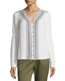 Veronica Beard Dream Blouse at Neiman Marcus