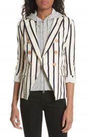 Veronica Beard Empire Stripe Dickey Jacket at Nordstrom