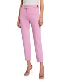 Veronica Beard Gamila Mid-Rise Ankle Pants at Neiman Marcus