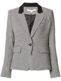 Veronica Beard Houndstooth Blazer - Farfetch at Farfetch