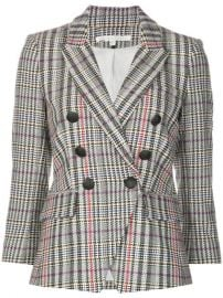 Veronica Beard Houndstooth Print Blazer - Farfetch at Farfetch