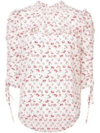 Veronica Beard Howell Flora Blouse - Farfetch at Farfetch