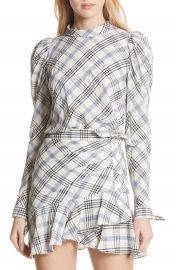 Veronica Beard Isabel Check Top at Nordstrom