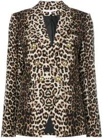Veronica Beard Leopard Print Blazer - Farfetch at Farfetch