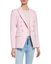 Veronica Beard Lonny Double-Breasted Dickey Jacket at Neiman Marcus