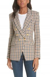 Veronica Beard Lonny Houndstooth Dickey Jacket   Nordstrom at Nordstrom