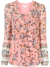 Veronica Beard Lowell floral-print Blouse - Farfetch at Farfetch