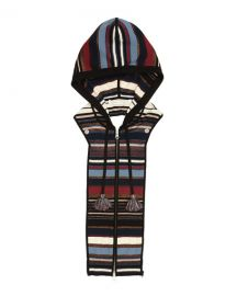 Veronica Beard Lupe Striped Zip-Front Hoodie Dickey at Neiman Marcus