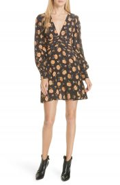 Veronica Beard Marion Floral Silk Dress at Nordstrom