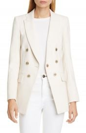Veronica Beard Matteo Double Breasted Dickey Jacket   Nordstrom at Nordstrom