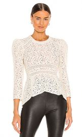 Veronica Beard Mayme Top in Ivory from Revolve com at Revolve