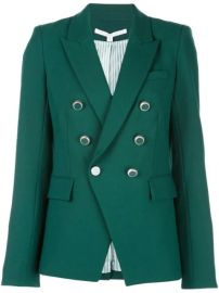 Veronica Beard Miller Dickey double-breasted Jacket - Farfetch at Farfetch