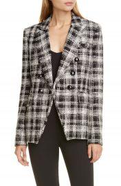 Veronica Beard Miller Embellished Tweed Dickey Jacket   Nordstrom at Nordstrom
