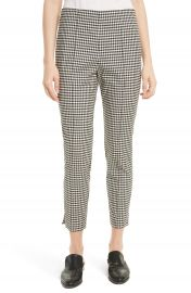 Veronica Beard Tee High Waisted Seam Trousers at Nordstrom