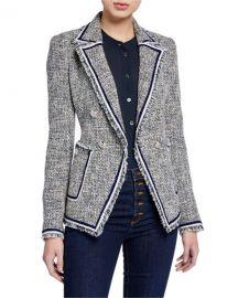 Veronica Beard Theron Tweed Jacket at Neiman Marcus