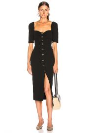 Veronica Beard Trace Dress in Black   FWRD at Forward